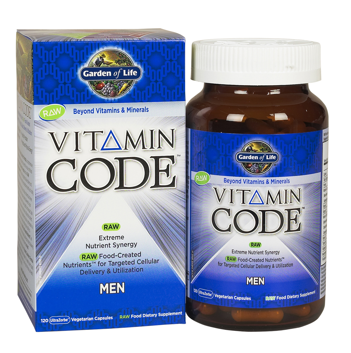 Garden of Life Vitamin Code Mens Multivitamin Green Daddy